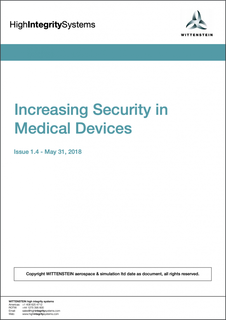 Medical Device White Paper