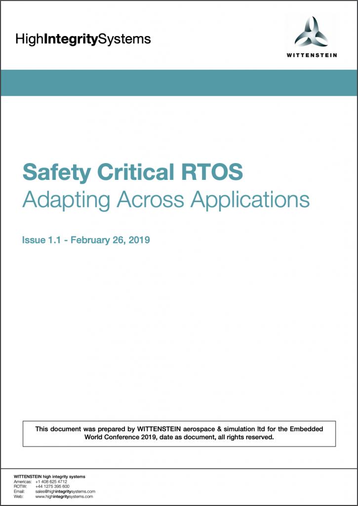 Safety Critical RTOS White Paper